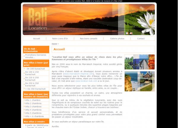 Location Bali